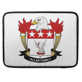 Escudo de la familia de Allan Fundas Para Macbooks