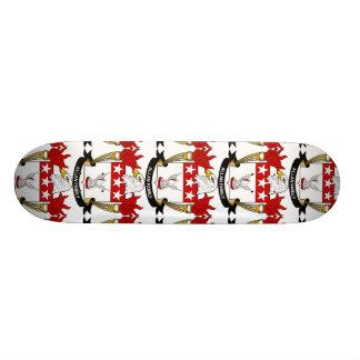 Escudo de la familia de Allan Skate Boards