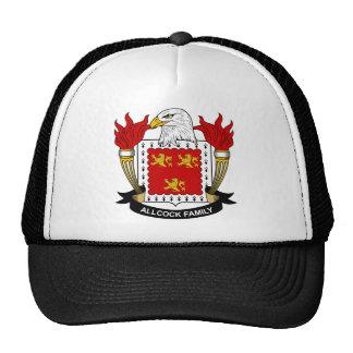 Escudo de la familia de Allcock Gorra