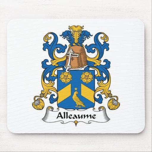 Escudo de la familia de Alleaume Alfombrilla De Raton
