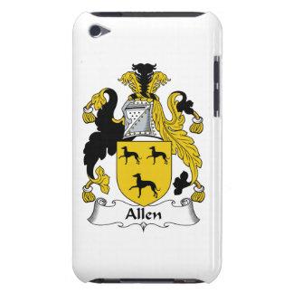 Escudo de la familia de Allen iPod Touch Case-Mate Coberturas