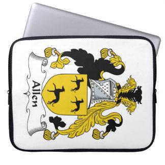 Escudo de la familia de Allen Funda Portátil