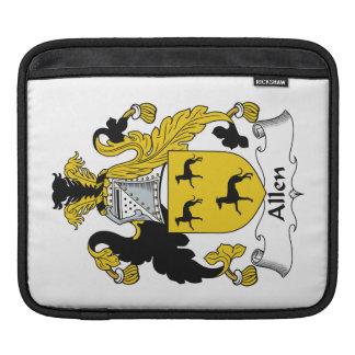 Escudo de la familia de Allen Fundas Para iPads