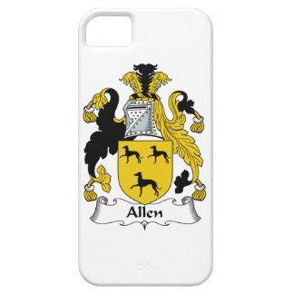 Escudo de la familia de Allen iPhone 5 Carcasas