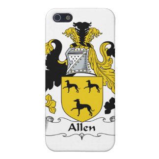 Escudo de la familia de Allen iPhone 5 Funda