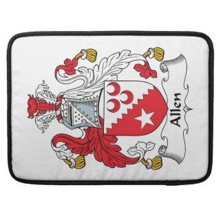 Escudo de la familia de Allen Funda Macbook Pro