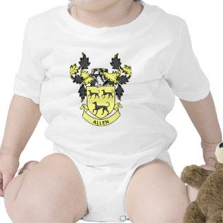 Escudo de la familia de Allen Traje De Bebé