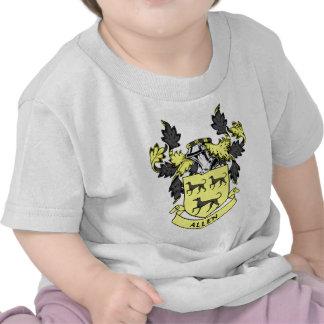 Escudo de la familia de Allen Camisetas