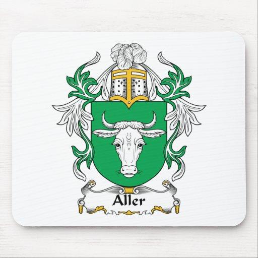 Escudo de la familia de Aller Alfombrilla De Ratón