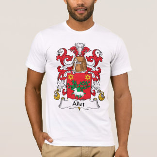 Escudo de la familia de Allet Playera