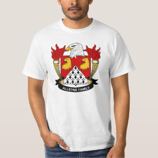 Escudo de la familia de Alleyne Camisas