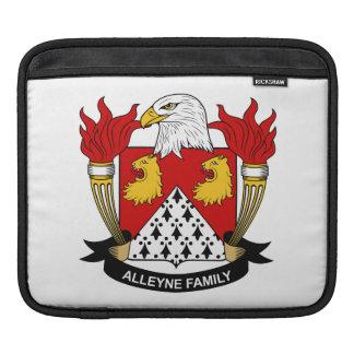 Escudo de la familia de Alleyne Fundas Para iPads