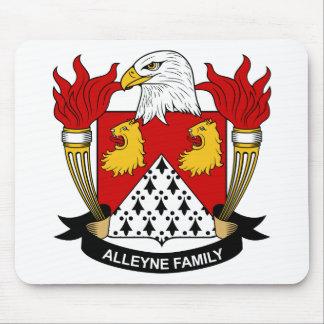 Escudo de la familia de Alleyne Mouse Pad