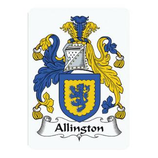 Escudo de la familia de Allington