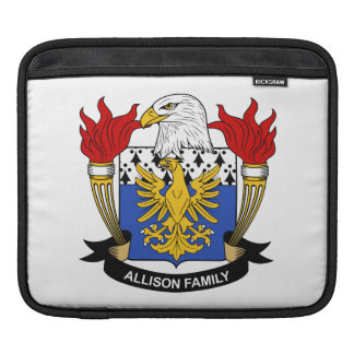 Escudo de la familia de Allison Fundas Para iPads