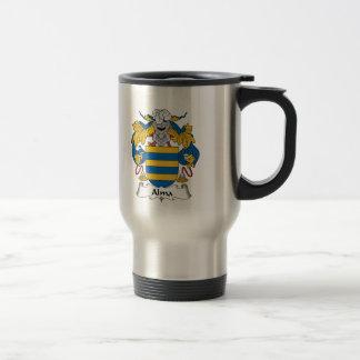 Escudo de la familia de Alma Tazas De Café