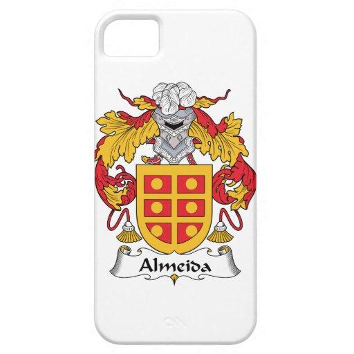 Escudo de la familia de Almeida iPhone 5 Case-Mate Fundas