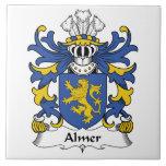 Escudo de la familia de Almer Azulejos Ceramicos
