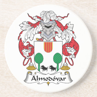 Escudo de la familia de Almodovar Posavasos Para Bebidas