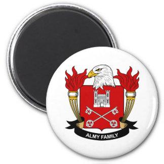 Escudo de la familia de Almy Imán Redondo 5 Cm