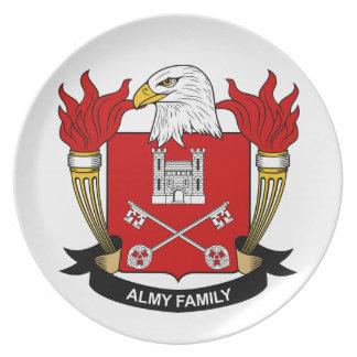 Escudo de la familia de Almy Platos