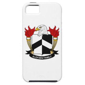 Escudo de la familia de Alofsen iPhone 5 Protectores