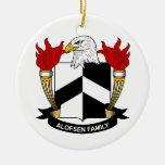 Escudo de la familia de Alofsen Ornato