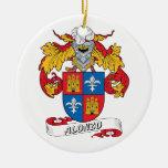 Escudo de la familia de Alonso Adorno Redondo De Cerámica