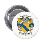 Escudo de la familia de Alpedrete Pin