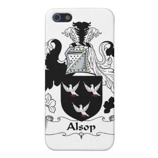 Escudo de la familia de Alsop iPhone 5 Carcasas