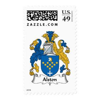 Escudo de la familia de Alston Envio