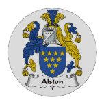Escudo de la familia de Alston Juego De Fichas De Póquer