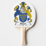 Escudo de la familia de Alston Pala De Ping Pong