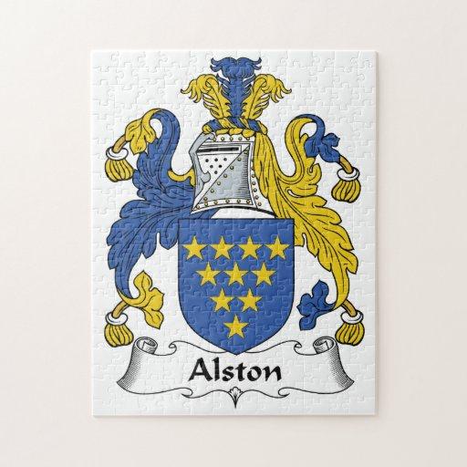 Escudo de la familia de Alston Puzzles