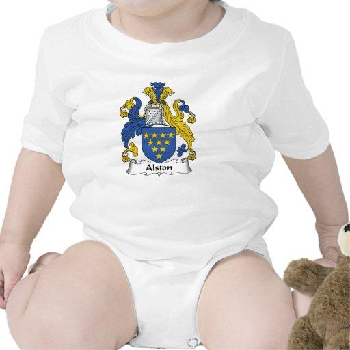 Escudo de la familia de Alston Traje De Bebé
