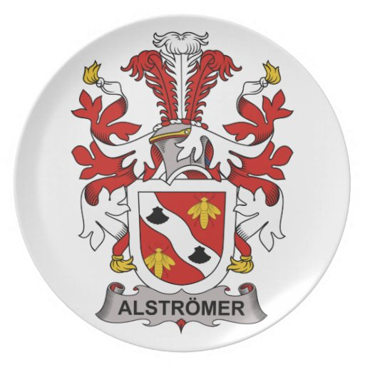 Escudo de la familia de Alstromer Platos