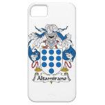 Escudo de la familia de Altamirano iPhone 5 Carcasas
