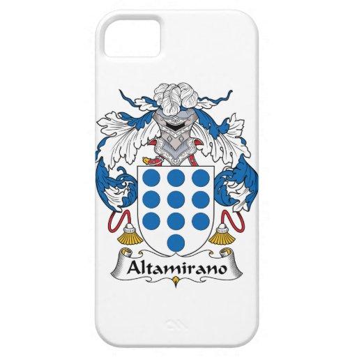 Escudo de la familia de Altamirano Funda Para iPhone 5 Barely There