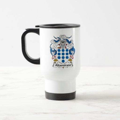 Escudo de la familia de Altamirano Tazas De Café