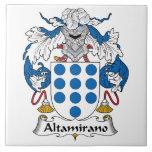 Escudo de la familia de Altamirano Teja