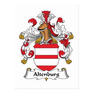 Escudo de la familia de Altenburgo Postal