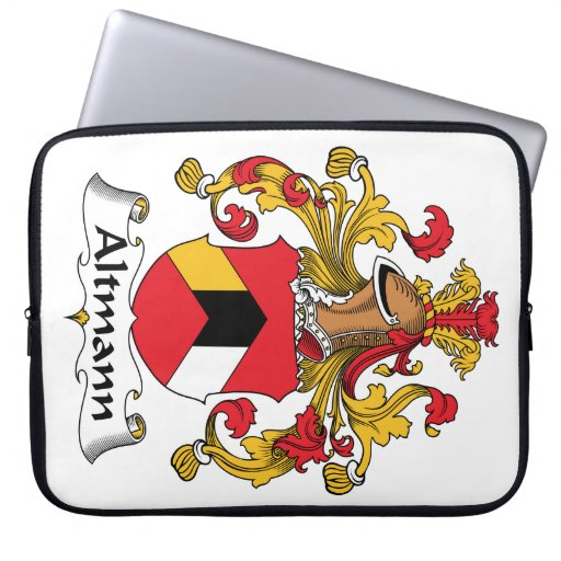Escudo de la familia de Altmann Funda Portátil
