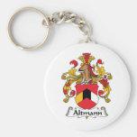 Escudo de la familia de Altmann Llavero Personalizado