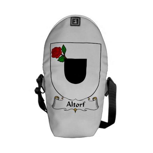 Escudo de la familia de Altorf Bolsa Messenger
