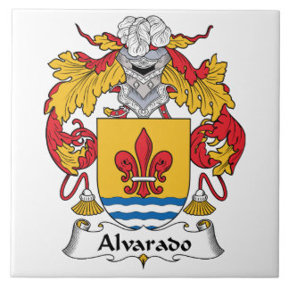 Escudo de la familia de Alvarado Teja