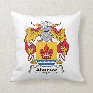 Escudo de la familia de Alvarado Almohadas