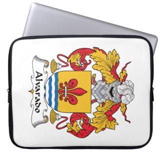 Escudo de la familia de Alvarado Fundas Portátiles