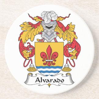 Escudo de la familia de Alvarado Posavasos Para Bebidas