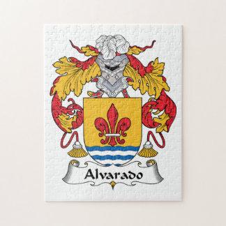 Escudo de la familia de Alvarado Puzzles
