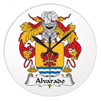 Escudo de la familia de Alvarado Reloj